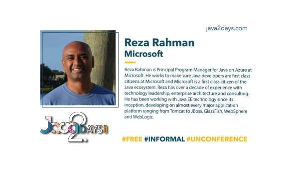 Jakarta EE and Java with Reza Rahman